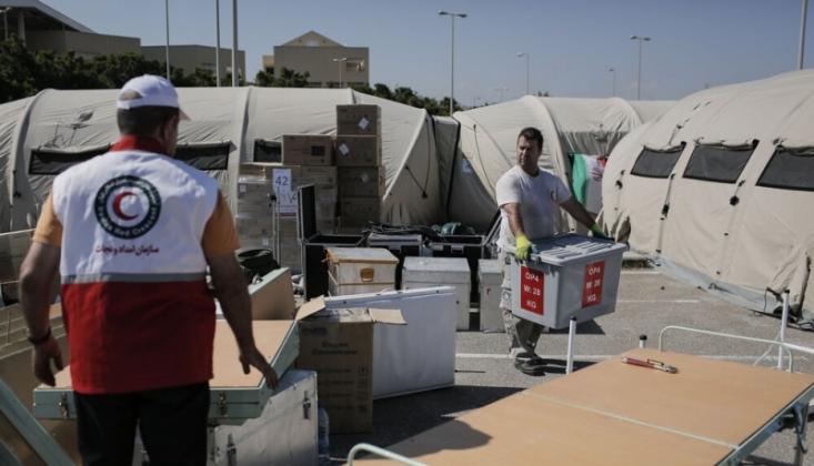 İran'ın, Beyrut'ta Sahra Hastanesi Hizmete Girdi
