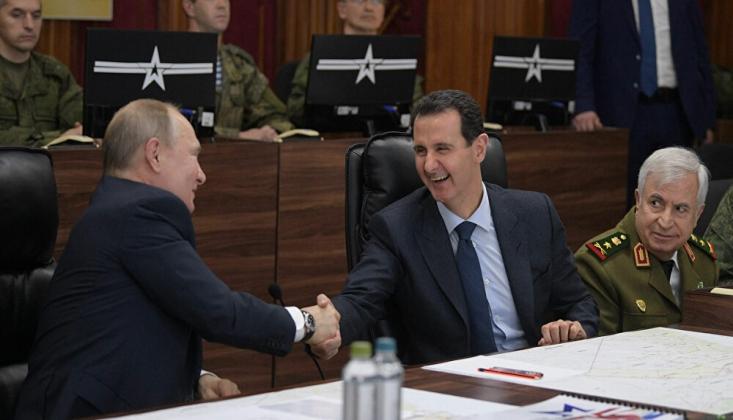 Rusya ile Suriye Arasında Görüş Ayrılığı Yok