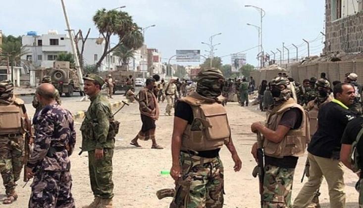 Yemen'de BAE ve Suudi Paralı Askerleri Arasında Çatışma