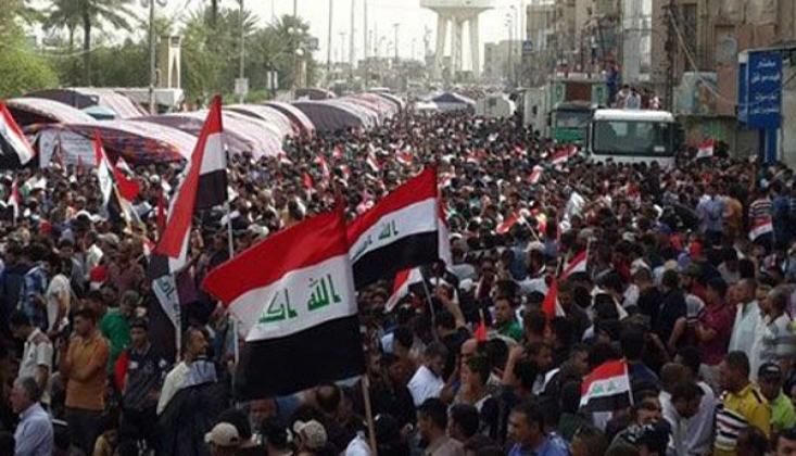 Irak'ta ABD Karşıtı Gösteri Başladı / FOTO