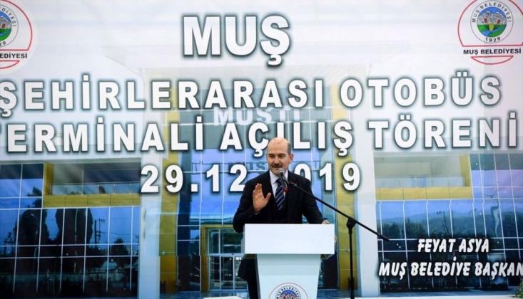 Soylu: Birileri Çatlasa Da Patlasa Da Kanal İstanbul'u Yapacağız