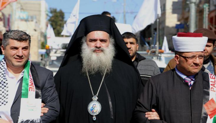 Başpiskopos Netenyahu'nun Eylemlerini ve Arapların Sessizliğini Kınadı
