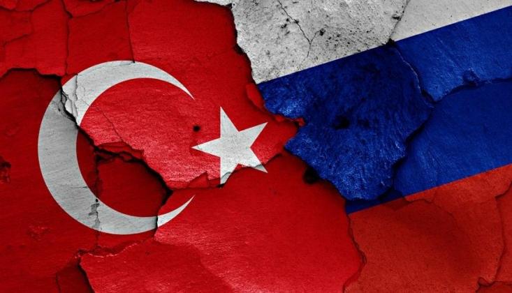 Çavuşoğlu Rusya'nın Büyükelçisi ile Görüştü