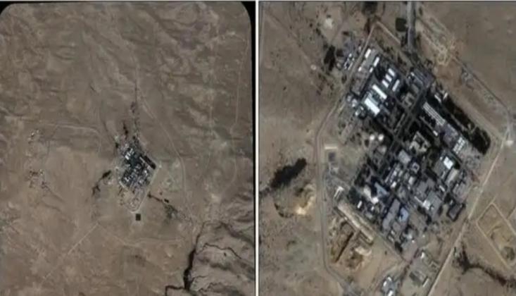 Uydu Görüntüleri İsrail'in İllegal Nükleer Faaliyetlerini İfşa Etti