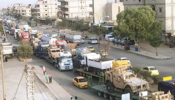 ABD'den Suriye'nin Kuzeyine Askeri Sevkıyat
