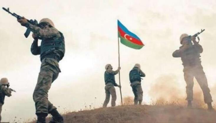 Cebrail İlinin Köylerinde Azerbaycan Bayrağı Dalgalanıyor
