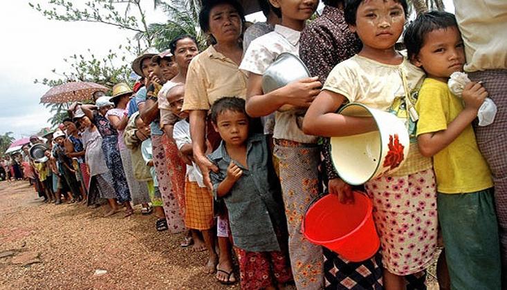 Myanmar'da İnsani Felaket Alarmı