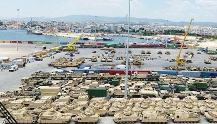 ABD Türkiye Sınırı Yakınına Askeri Teçhizat Yığdı