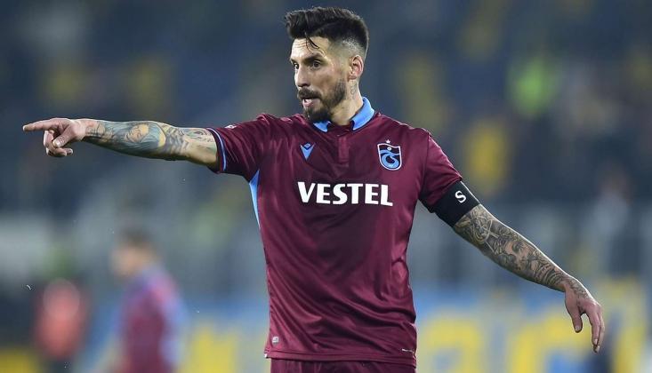 """Jose Sosa: """"İsminiz Trabzonspor İse Hedefiniz de Zirve Olur"""