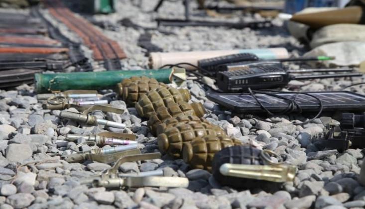Ermenistan Ordusunun Kaçarken Geride Bıraktığı Silahlar /FOTO