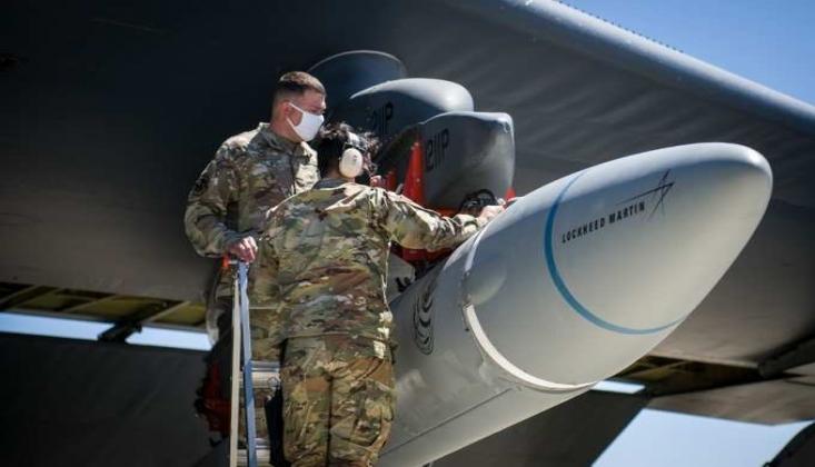 ABD Hava Kuvvetleri'nin Hipersonik Füzesi Başarısız Oldu
