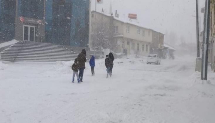 7 İlde Eğitime Kar Tatili
