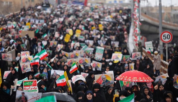 İran Halkı, 'İslam Devrimi'nin 41. Zafer Yıldönümü'nü Kutluyor / FOTO