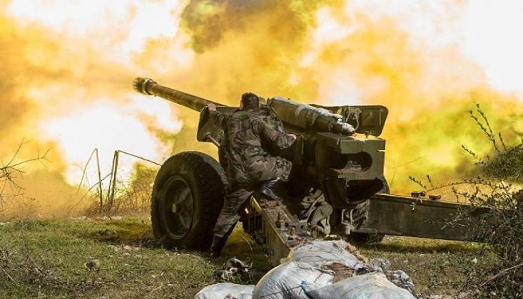 Suriye Birlikleri, Han Şeyhun Kentini Kuşattı