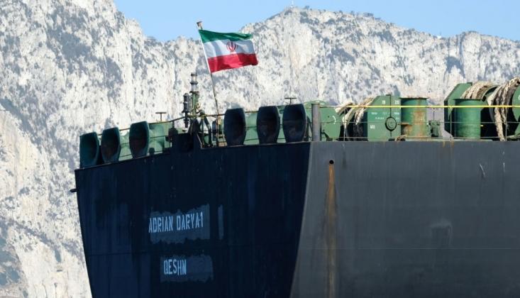 'Adrian Darya 1' Tankeri Türk Karasularından Uzaklaştı