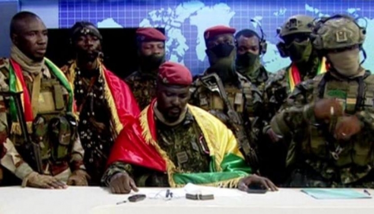 Gine'de Darbe: Özel Kuvvetler Yönetime El Koyduğunu Duyurdu