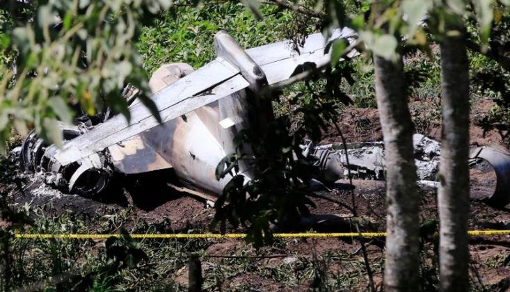 Meksika'da Uçak Kazası /VİDEO
