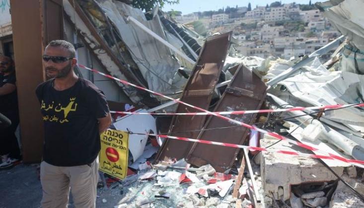 Filistinliler Evlerini Kendi Elleri İle Yıkmaya Zorlanıyor