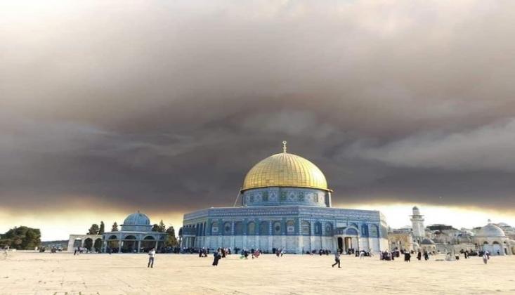 İşgal Altındaki Kudüs'te Orman Yangınları Devam Ediyor