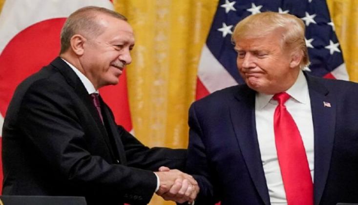 Tezkerenin Ardından Erdoğan Trump'la Görüştü