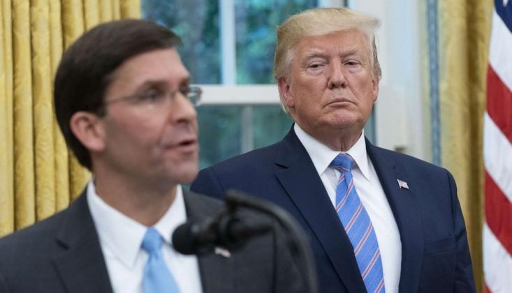 Trump: ABD'nin Tıbbi Malzeme Stoku Bitmek Üzere
