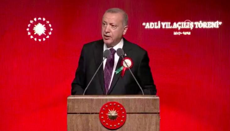 Erdoğan, Törene Katılmayan Baroları Hedef Aldı
