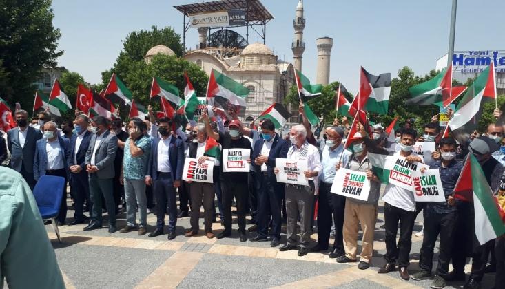 Malatya'da Siyasi Parti Yöneticilerinden Kürecik Üssü Kapatılsın Mitingi