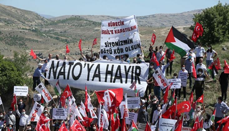 Vatan Partisi ve TGB'den Eylem: Kürecik Üssü, İsrail'e Kapatılsın