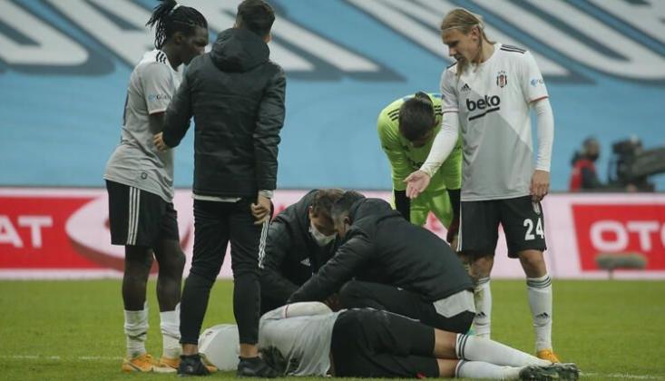 Beşiktaş'ın Oyuncusunun Kafası Yarıldı