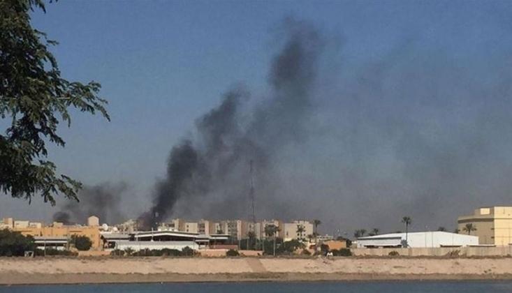 Bağdat'ta Amerikan Konvoyuna Saldırı