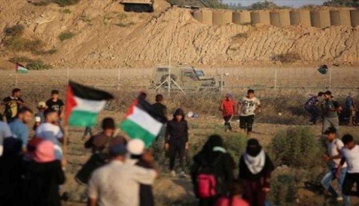İsrail Ordusu Gazze'de 2 Filistinliyi Öldürdü