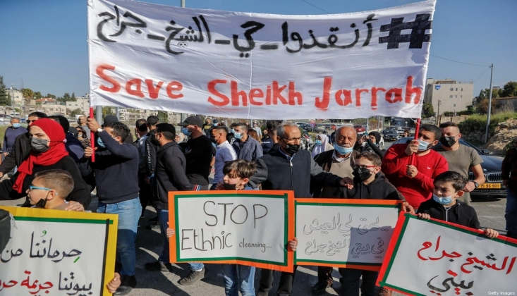 Ürdün: Filistinlilerin Evlerinden Çıkarılması Savaş Suçudur
