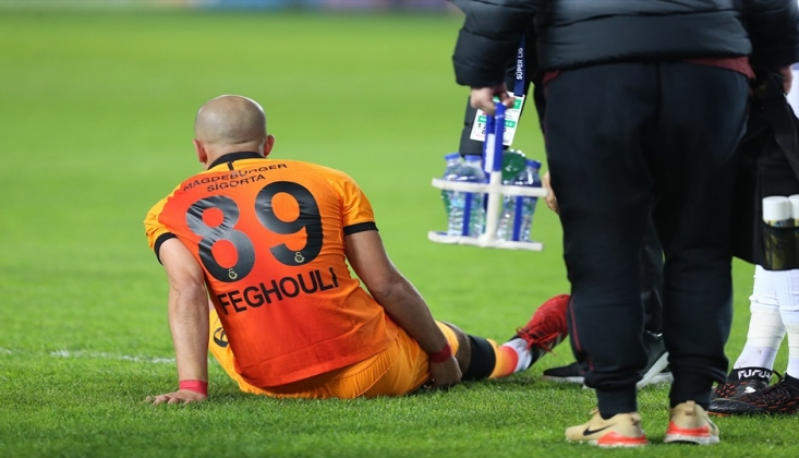Galatasaray'a Feghouli Şoku!