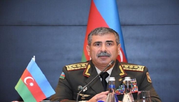 Azerbaycan Savunma Bakanı, Türkiye'ye Geldi