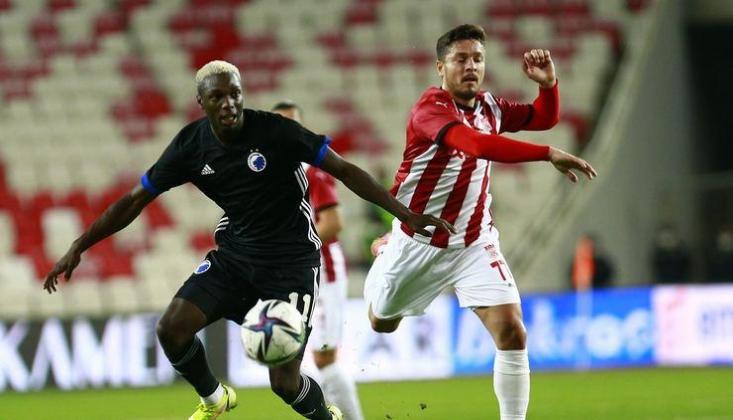 Sivasspor, Kopenhag'a Diş Geçiremedi!