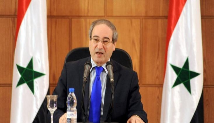 AB'den Suriye Dışişleri Bakanına Yaptırım