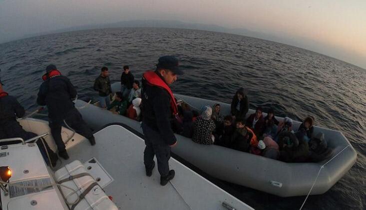 Ayvacık'ta Kaçak Göçmenler Yakalandı