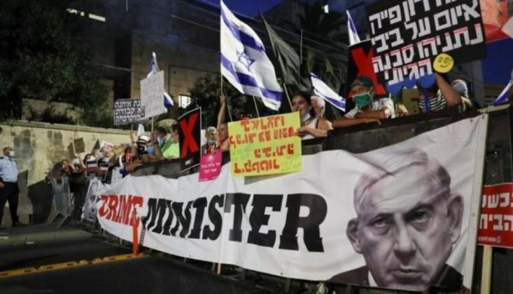 Netanyahu Karşıtı Gösteriler İsrail Dışına Da Yayılıyor