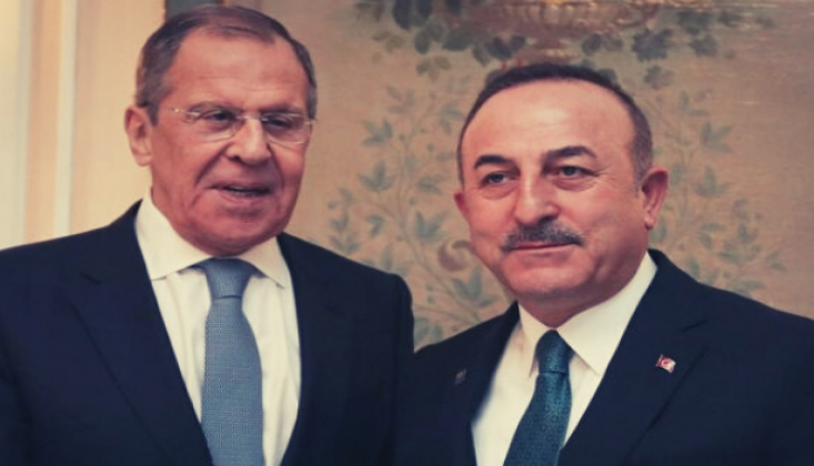 """""""Lavrov'a İdlib'de Kalıcı Ateşkes Tesis Edilmesi Gerektiğini Söyledik"""""""