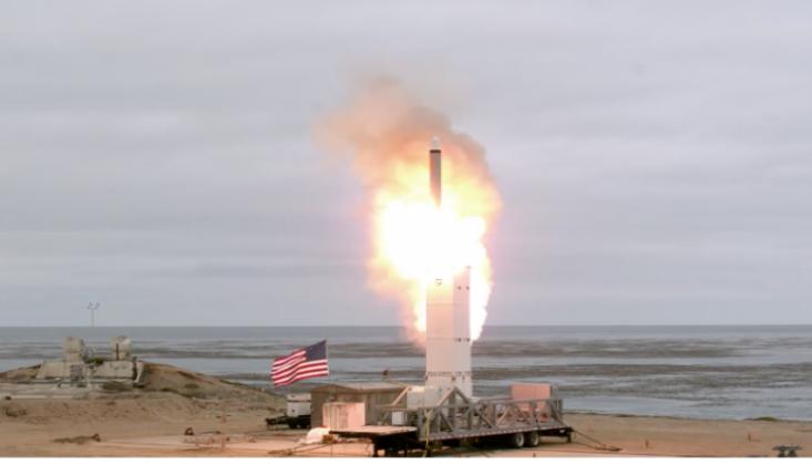 ABD Kıtalararası Füze Test Etti