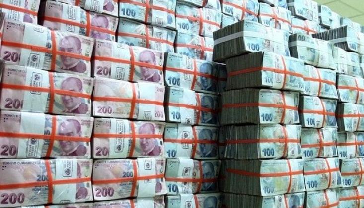Hazine 1 Ayda 13 Milyar Lira Açık Verdi
