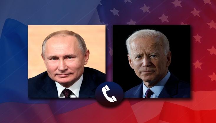 Biden'den Putin'e Telefon