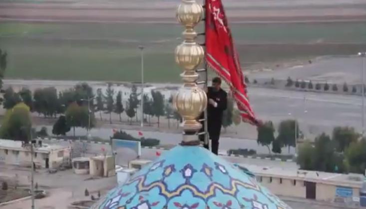 'İntikam' Bayrağı Göndere Çekildi/VİDEO