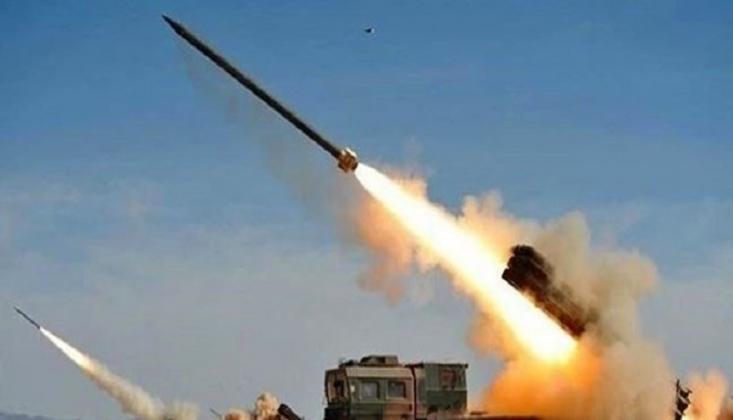 Yemen Güçlerinden Suudiler'in Mevzilerine Füzeli Saldırı