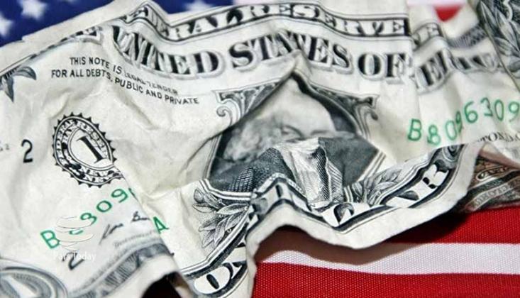 ABD'de Bütçe Açığı 1 Trilyon Dolar Sınırında