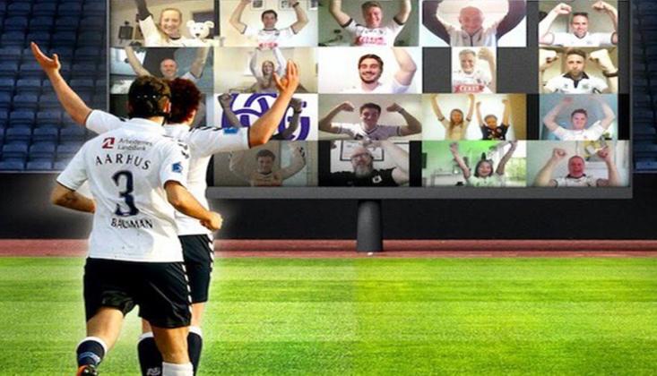 Avrupa'da Seyircisiz Maçlara 'Sanal' Çözüm