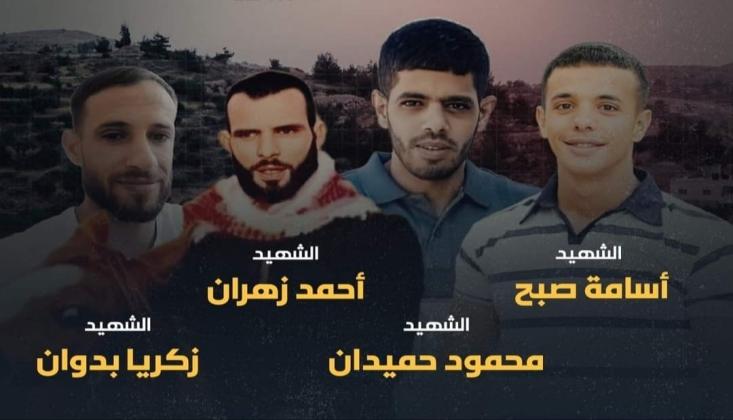 Batı Şeria'da Gözaltı Baskınlarında 4 Filistinli Şehit Oldu