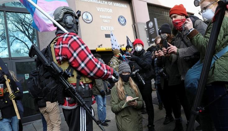 ABD'de Silahlı Gruplar 'Lobi Günü' Nedeniyle Sokağa İndi