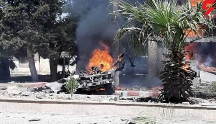 Halep Kırsalında Bomba Yüklü Araç Patladı