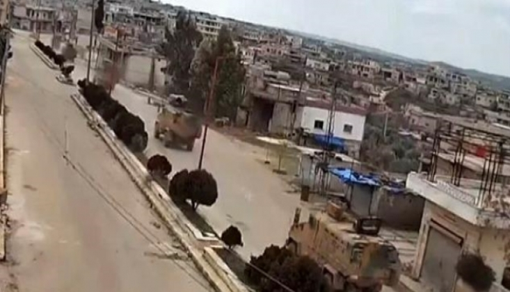 TSK'ya Ait 50 Araçlık Konvoy İdlib'e Girdi